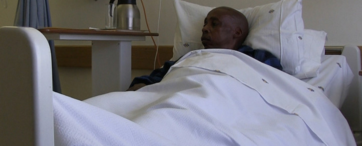 Fifty-two-year-old Aubrey Moerane was told by management at the Chris Hani Baragwanath Academic Hospital that he would have to wait seven years for hip replacement surgery. Picture: Reinart Toerien/EWN