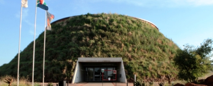 Entrance to the Maropeng Visitors Centre. Picture: Maropeng.