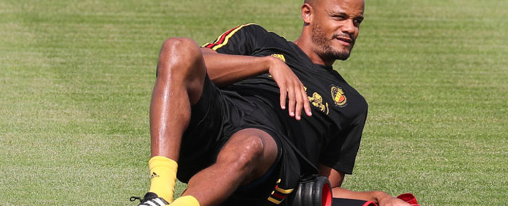 Belgium defender Vincent Kompany. Picture: AFP