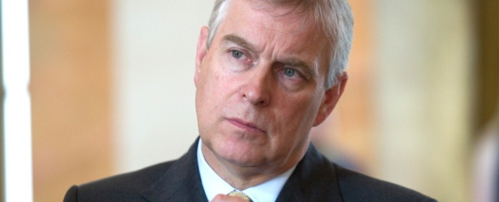 FILE: Britain's Prince Andrew. Picture: AFP