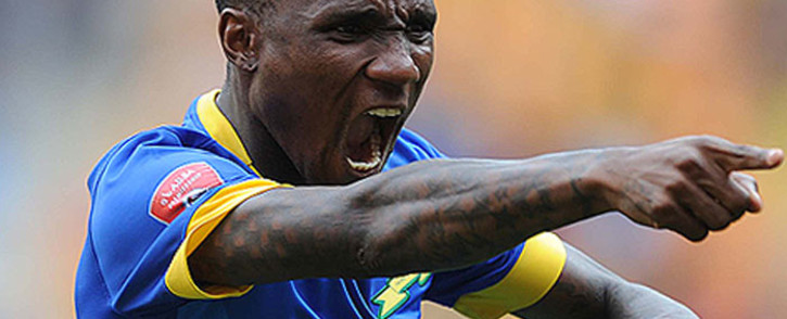 Mamelodi Sundowns's midfielder Teko Modise celebrates his goal against Kaizer Chiefs on 22 November 2014. Picture: Facebook.com