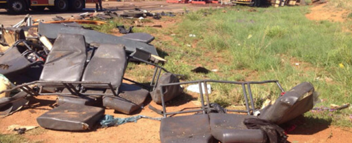 FILE: Four people were killed in an accident in Moloto Road on Human Rights Day. Picture: Barry Bateman/EWN