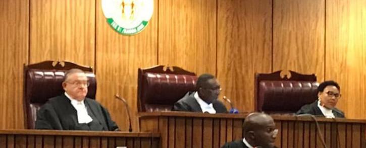 FILE: Judge President Dustan Mlambo delivering judgment in the Pretoria High Court. Picture: EWN.