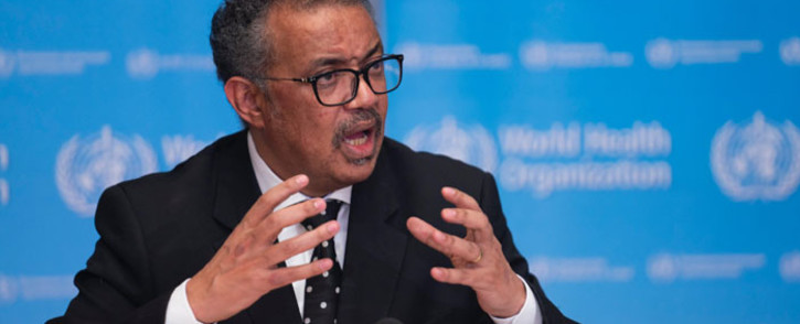 World Health Organisation (WHO) director-general Tedros Adhanom Ghebreyesus. Picture: @WHO/Twitter