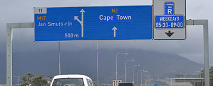 FILE: A section of Cape Town's N2 highway. Picture: Aletta Gardner/EWN