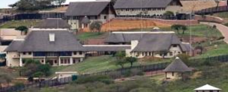 Jacob Zuma's homestead in Nkandla in KwaZulu-Natal. Picture: EWN.