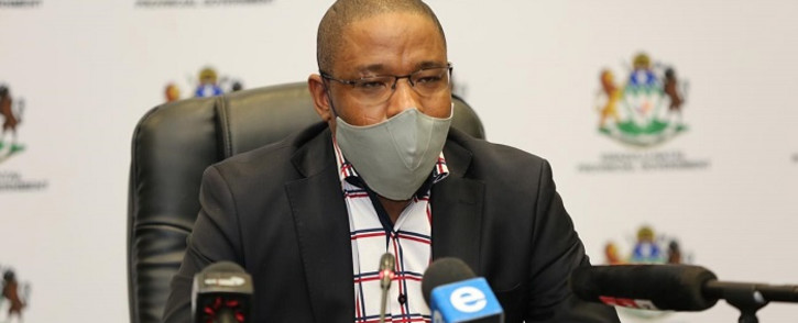 FILE: KZN education MEC Kwazi Mshengu said his department initiated the sanitary towel provision programme to improve the school attendance of girl-children as well as improve their performance.. Picture: @DBE_KZN/Twitter.