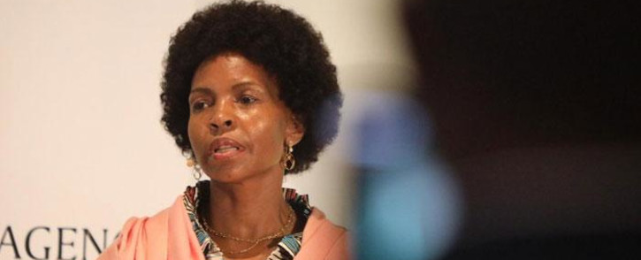 FILE: Minister for Women, Youth and Persons with Disabilities Maite Nkoana-Mashabane addresses young people ahead of the 2020 State of the Nation Address at Cape Town International Convention Centre on 12 February 2020. Picture: Kayleen Morgan/EWN