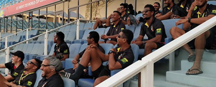 Papua New Guinea qualified for their maiden appearance at the T20 World Cup in Australia 2020. Picture: @ICC/Twitter.