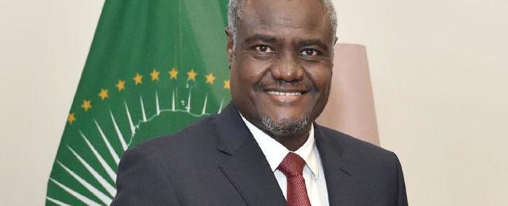 African Union (AU) Commission chairperson Moussa Faki Mahamat. Picture: GCIS.