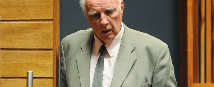 FILE: Bob Hewitt at the Palm Ridge magistrates court on 23 March 2015. Picture: AFP.
