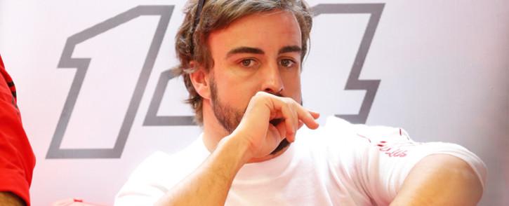 FILE: Spanish Formula One driver Fernando Alonso of Scuderia Ferrari: Picture: EPA.