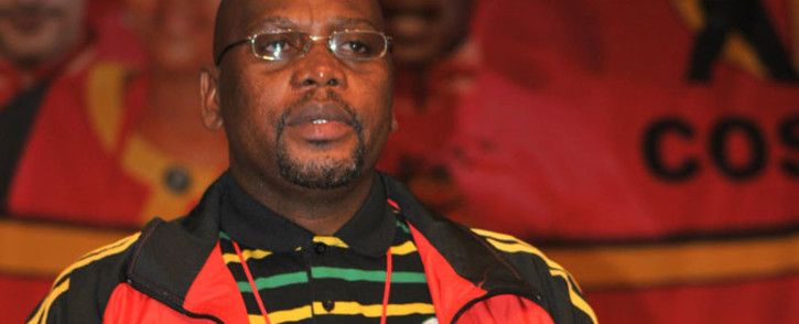 FILE. Congress of South African Trade Unions (Cosatu) President S'dumo Dlamini. Picture: Official Cosatu Facebook page.