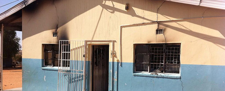 The Ditshipeng Intermediate School is one of four schools in Kuruman, Northern Cape which was set alight by criminals. Picture: Carmel Loggenberg/EWN