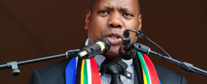 SAYING GOODBYE: Zweli Mkhize is leaving . Picture: GCIS