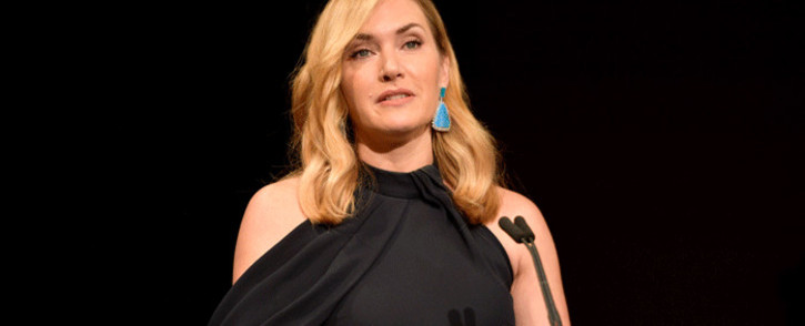 FILE: Kate Winslet accepts the Actors Inspiration Award onstage at the SAG-AFTRA Foundation Patron of the Artists Awards 2017 at the Wallis Annenberg Center for the Performing Arts on 9 November 2017 in Beverly Hills, California. Picture: AFP.