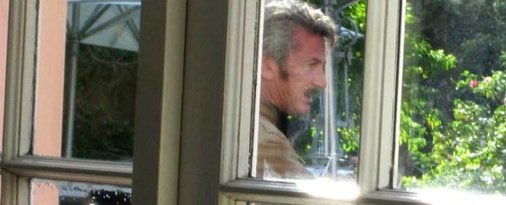 Hollywood actor Sean Penn. Picture: Supplied by Tarryn Sessions.