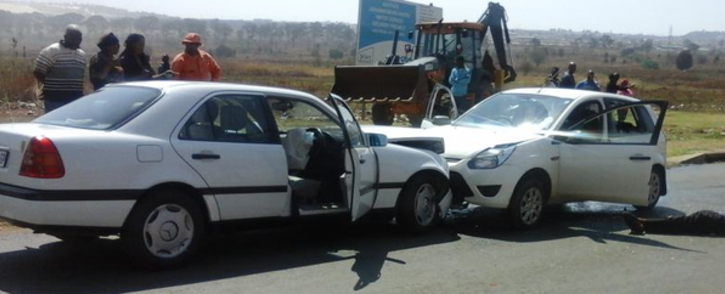 Two police officers were gunned down in Dobsonville, Soweto, on 9 September 2015. Picture: iWitness @Samu_Khumalo.