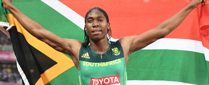 FILE: World 800m champion Caster Semenya. Picture: AFP