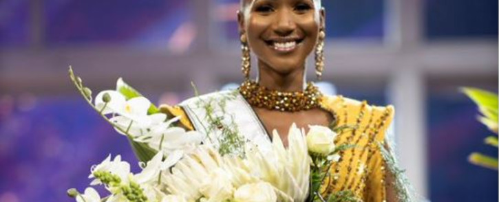 Newly crowned Miss South Africa Shudufhadzo Musida. Picture: Supplied