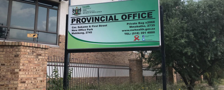 FILE: The North West Department of Health head office in Mahikeng. Picture: Masechaba Sefularo/EWN.