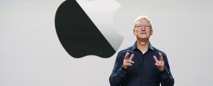 FILE: Apple CEO Tim Cook. Picture: AFP