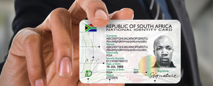 A smart ID sample. Picture: Supplied