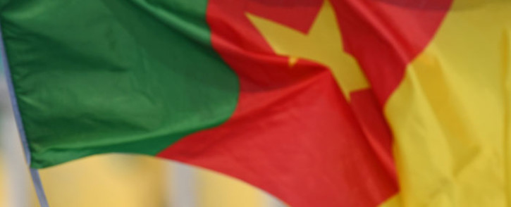 The Cameroon flag. Picture: AFP