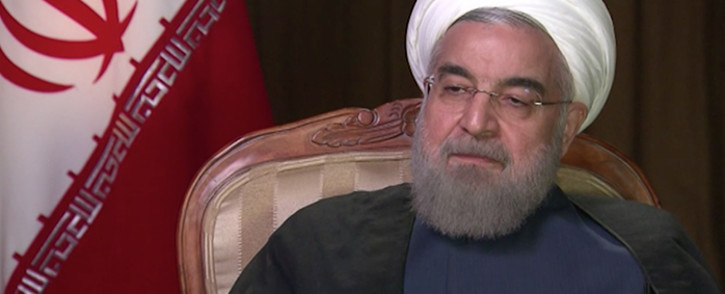 FILE: President of Iran Hassan Rouhani.Picture:Screengrab/CNN