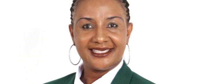 Netball SA president Cecilia Molokwane. Picture: Supplied
