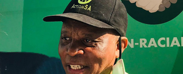 ActionSA president, Herman Mashaba, at the launch of the party's 2021 local government elections campaign on 9 September 2021. Picture: @Action4SA/Twitter