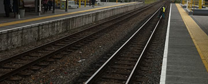 The man was allegedly pushed from a moving train between Mowbray and Rondebosch stations on Wednesday 19 February 2014. Picture: Regan Thaw/EWN