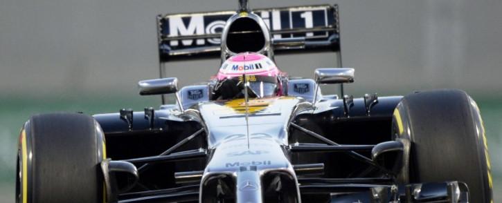 FILE: McLaren Mercedes driver Jenson Button in action. Picture: AFP