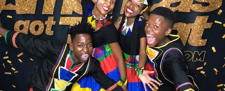 Ndlovu Youth Choir. Picture: Ndlovu Youth Choir/Twitter.