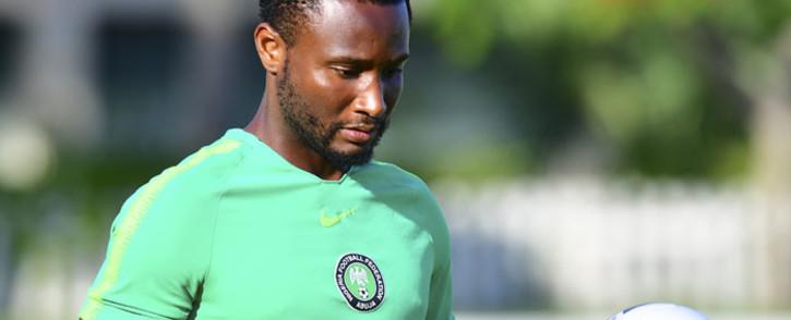 Nigeria midfielder John Obi Mikel. Picture: AFP