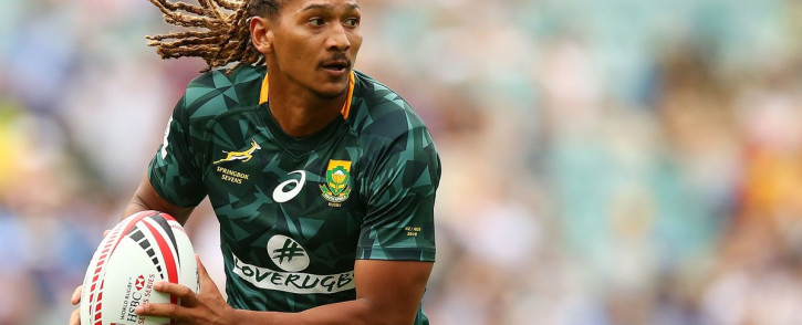 Justin Geduld has been ruled out of action for six weeks with a fractured jaw. Picture: Twitter/@Blitzboks