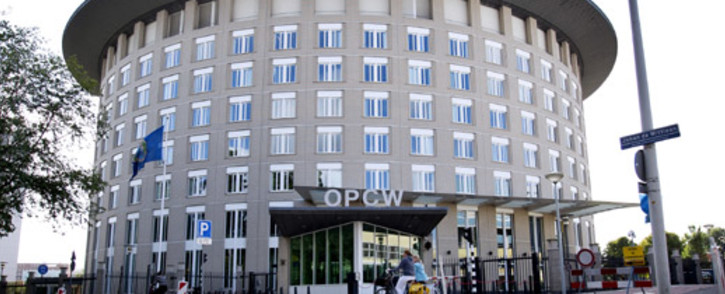 The headquarters of the Organisation for the Prohibition of Chemical Weapons (OPCW) in The Hague, The Netherlands. Picture: AFP