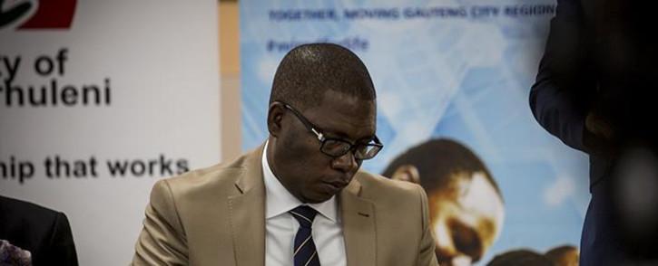FILE: Gauteng Education MEC Panyaza Lesufi. Picture: Reinart Toerien/EWN