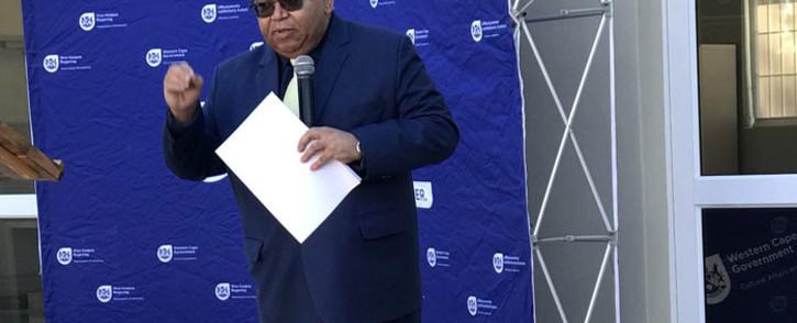 Western Cape Social Development Department Albet Fritz. Picture: @AlbertFritz_DA/Twitter