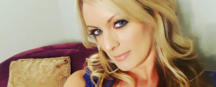 FILE: Adult film actress Stephanie Clifford, who uses Stormy Daniels as her professional name. Picture: @thestormydaniels/Instagram