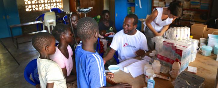 FILE: Medecins Sans Frontieres (MSF)