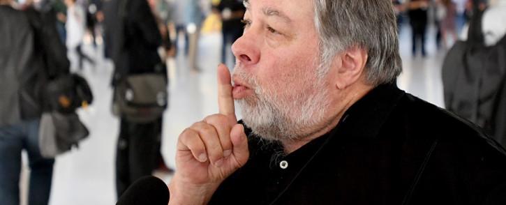 FILE: Apple co-founder Steve Wozniak. Picture: AFP