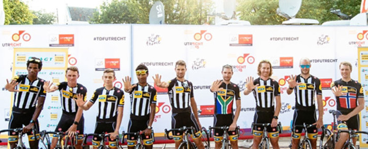 FILE: Riders of Dimension Data, previously known as MTN Qhubeka, who also took part in the Tour de France. Picture: teammtnqhubeka.com.