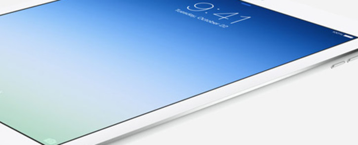 New iPad Air. Source:www.apple.com