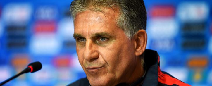 Carlos Queiroz. Picture: AFP