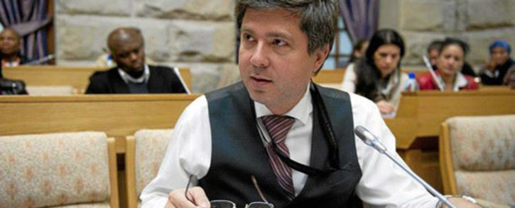 FILE: The late Mario Oriani-Ambrosini sent his closest friends a message prior to taking his own life. Picture: Giovanna Gerbi/EWN.