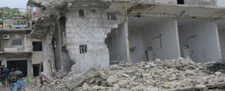 A bombed house in Harem, Syria. Picture: Rahima Essop/EWN.