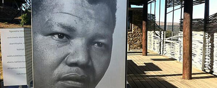 An open-air exhibit of Nelson Mandela at Mvezo Great Place. Picture: Rahima Essop/EWN