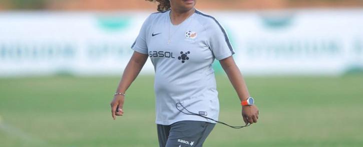 Banyana Banyana coach Desiree Ellis. Picure: @SAFA_net/Twitter