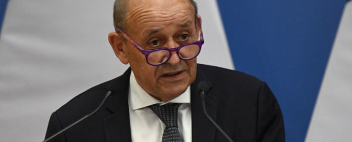French European and Foreign Affairs Minister Jean-Yves Le Drian. Picture: Attila Kisbenedek/AFP